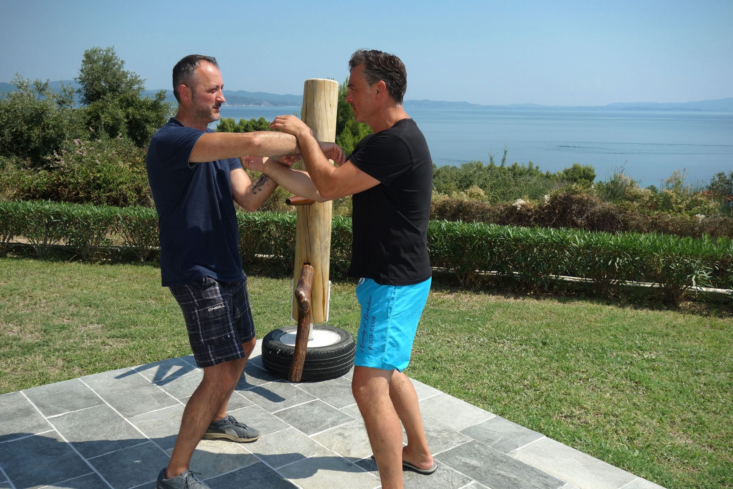 Wing Chun Training in Griechenland